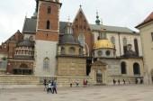 Wawel Castle On August 20, 2014 in Krakow, Poland — ストック写真