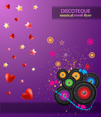 Valentine's Day Flayer — Vettoriale Stock