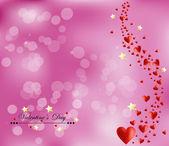 Fond de jour de saint valentin — Vecteur