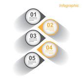 信息图表设计模板 — 图库矢量图片