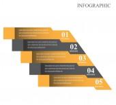 Infographic design template — 图库矢量图片