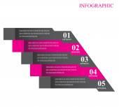 Infographic formgivningsmall — Stockvektor