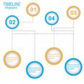 Kalendarium plansza projekt szablonu. — Wektor stockowy