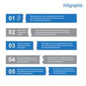 Infographic ontwerpsjabloon — Stockvector