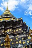 Thai-tempel stupa — Stockfoto