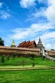 Tradiční thajské chrám — Stock fotografie