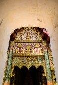 Ornate Gateway to Thai Temple — Stock Photo