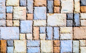 Mosaic wall design — Foto de Stock