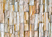 Wall of granite pieces — Stock Photo