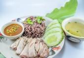 Thai Chicken Rice — Stock Photo