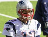Tom Brady- New England Patriots — Stock Photo