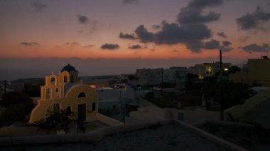 Santorini Sunrise — ストックビデオ