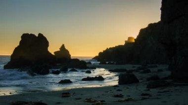 California Beach — Stock Video