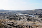 View in a open Coal mine — Stock Photo