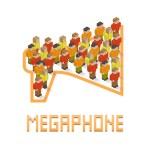 Megaphone — Stock Vector #70337301