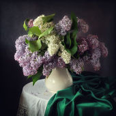 Lilac bouquet — Stock Photo