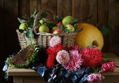 Still life with a bouquet — Stock Photo