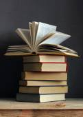 Still life with books — Stock Photo