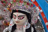 Last day of goddess Durga during Durga Puja festival — Stock Photo