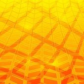 Yellow-abstract-background-organic-farm-shadow — Stock Vector