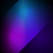 Glowing effect oblique stripes background — Stock Vector