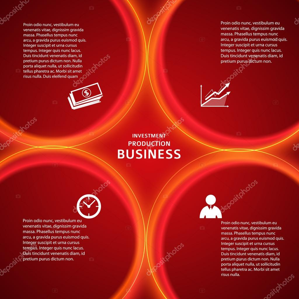 banking template red background cover page stock vector banking template red background cover page stock illustration