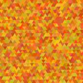 Autumn background abstract mosaic triangles Thanksgiving — Stock Vector