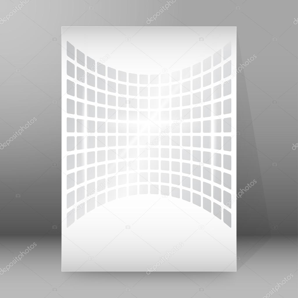 gray shapes background report title page booklet layout stock gray shapes background report title page booklet layout stock vector 92076584