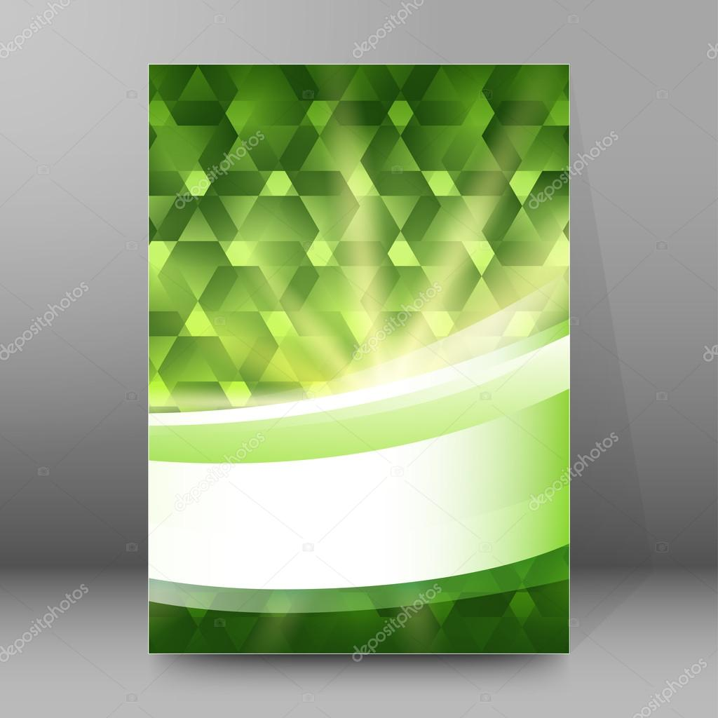 green light shapes cover page brochure background stock vector green light shapes cover page brochure background stock vector 94017028