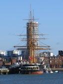 HMS Warrior — Stock Photo