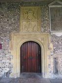 Cathedral Doorway — Stock Photo