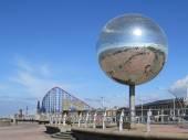 Giant Glitter Ball — Stock Photo