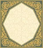 Старинная декоративная структура — Cтоковый вектор