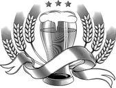 Brewery emblem - beer — Vetorial Stock