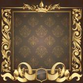 Retro ornate background — Stockvector