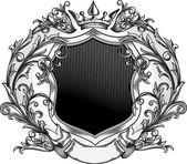 Decorative vintage emblem — Stock Vector
