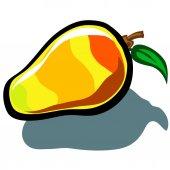 Mango — Stock Vector