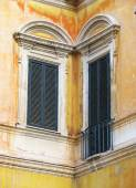 Rome windows — Stock Photo