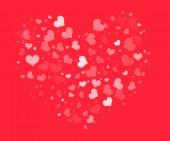 Valentine's day background — Foto Stock