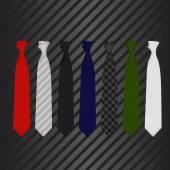 La corbata — Vector de stock