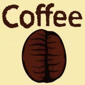 Coffee bean — Stock Vector