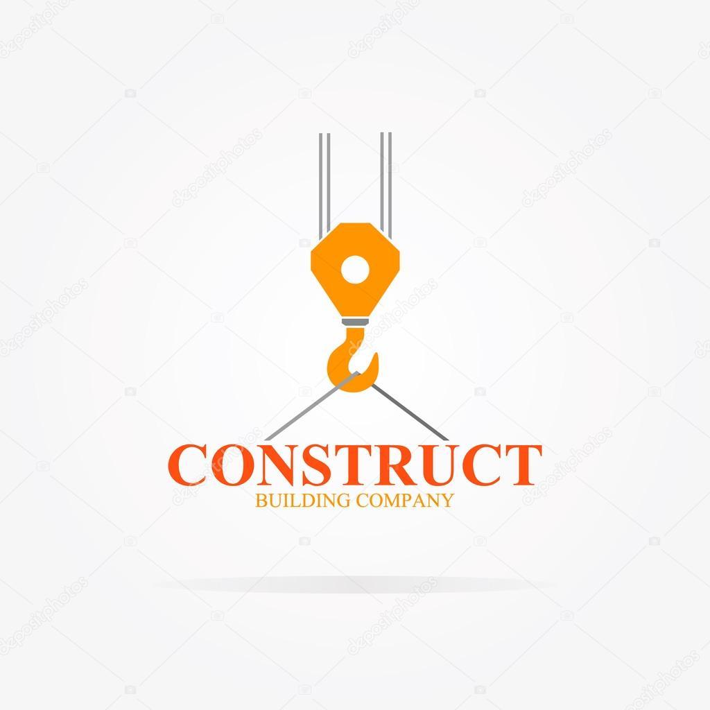 Vector logotipo de gr a para empresa constructora vector for Constructora