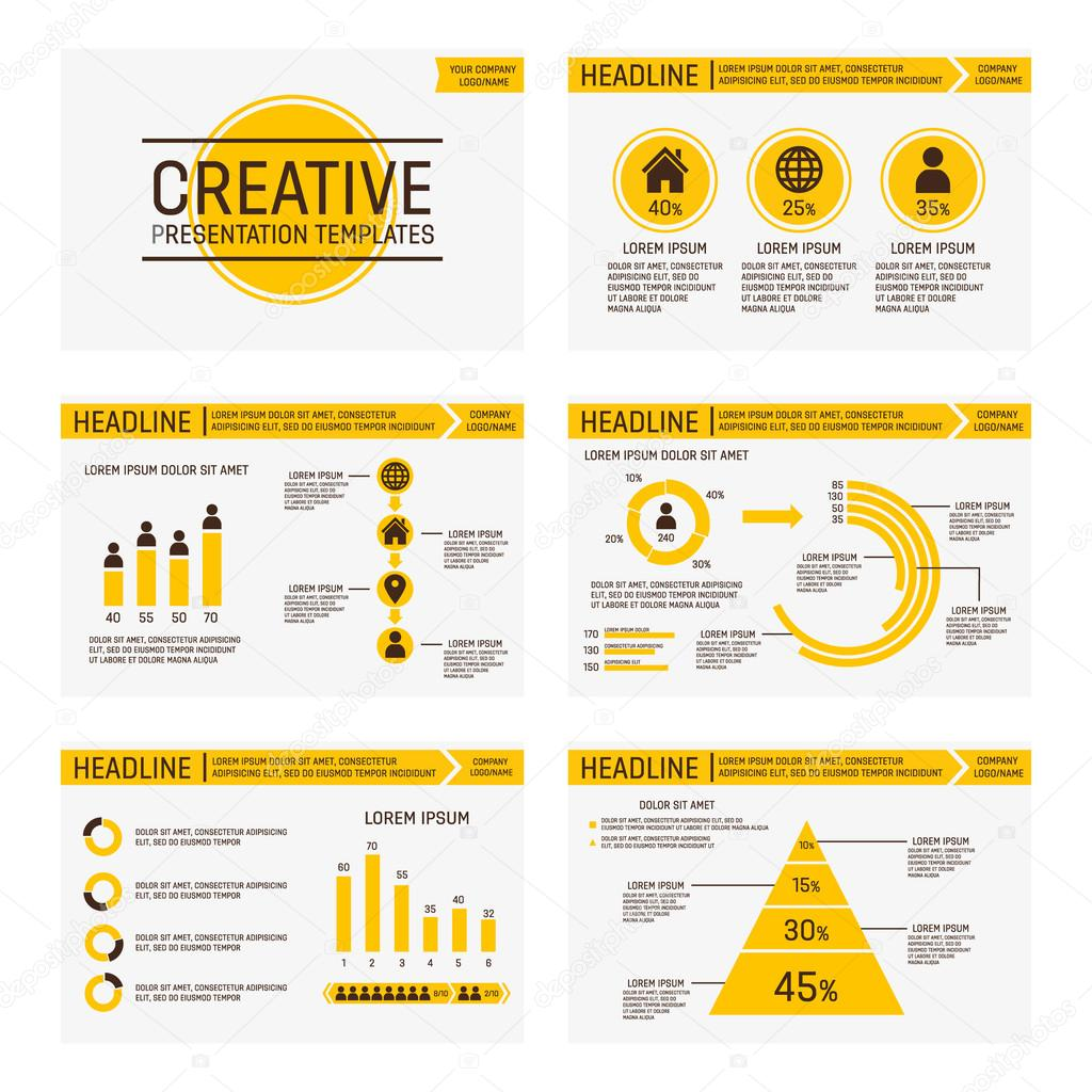 Infographic powerpoint charts free
