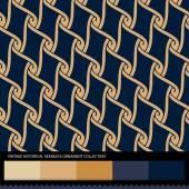 Vintage historical ornamental seamless pattern. — Stock vektor