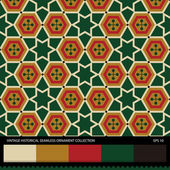 Vintage historical ornamental seamless pattern. — Vector de stock