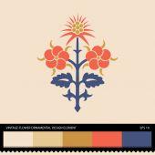 Vintage Flower ornamental design element — Stockvektor