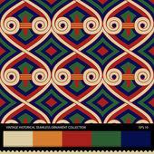 Vintage historical ornamental seamless pattern. — Stockvektor