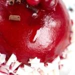 Raspberry cranberry cake — Stock Photo #67585181