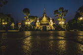 Two statue giants at Wat Arun — Stock Photo