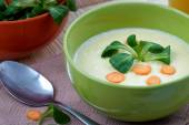 Corn cream soup — Fotografia Stock